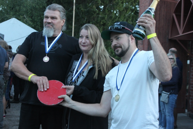 HeviFrisbeen voittajat 2018